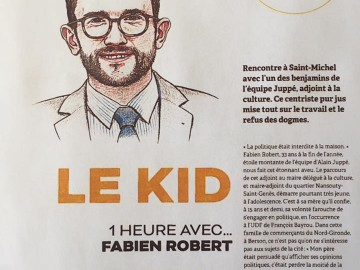 """PRESSE - """"Le Kid"""", 1h avec Fabien Robert"""