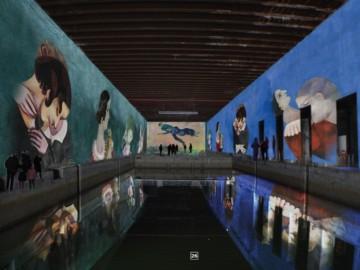 """A Bordeaux, création des """"Bassins de Lumières"""" à la Base Sous-Marine"""