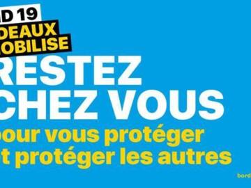 Face au COVID-19, Bordeaux se mobilise